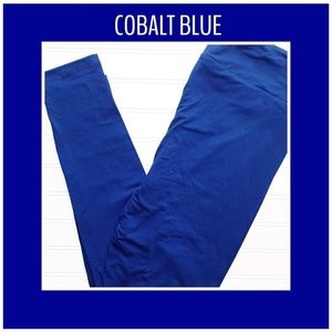 OS, TC, TC2 Cobalt Blue LuLaRoe Leggings